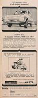 Publicité Papier VOITURE DAF DAFFODIL  1965 PIP1058760.jpg - Werbung