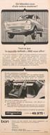 Publicité Papier VOITURE DAF DAFFODIL  1965 PIP1058790 - Werbung