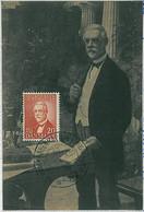 32613 - DENMARK - Postal History - MAXIMUM CARD Carl Jacobsen Carlsberg BEER 1956 - Maximum Cards & Covers