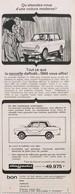 Publicité Papier VOITURE DAF DAFFODIL  1965 PIP1058824 - Werbung