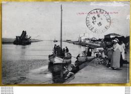 CPA - LA NOUVELLE - Vue Du Port - Animée: Pêcheurs, Barque Et Ses Passagers, Mère Avec Son Enfant Dans Le Landau - Port La Nouvelle