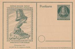 Allemagne Berlin Entier Postal Illustré 1951 - Postkarten - Ungebraucht