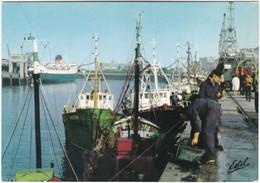 62. Gf. BOULOGNE-SUR-MER. Bateaux De Pêche, Quai Gambetta. 1430 - Boulogne Sur Mer