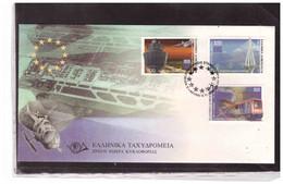 TEM15049    -  ATHENS 8.11.1999/    FDC  CAT. UNIFICATO NR. 1993/1997 - Trains