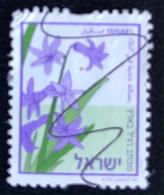 Israël - C1/50 - (°)used - 2002 - Michel 1500 Cs - Hyacinth - Usados (sin Tab)