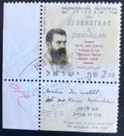 Israël - C1/50 - (°)used - 2004 - Michel 1786 - Theodor Herzl - Usados (con Tab)