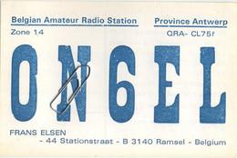 RAMSEL :  Belgian Amateur Radio Station :  Frans Elsen  ( Scans ) - Herselt