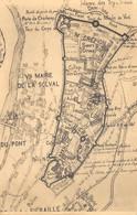 Thuin En 1789 D'après G. Boulmont - Plan Des Remparts - Thuin