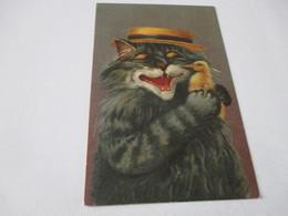 Fantasiekaart Katten - Cats