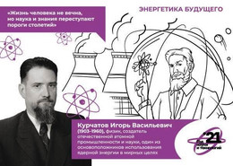 Russia 2021 Postal Stationery Card Year Of Science And Technology Energy Of The Future. Igor Kurchatov Nuclear Physicist - Fisica