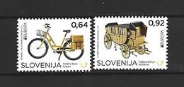 Timbre  Europa Neuf **  Slovénie N 828 / 829 - 2013