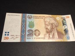 TAJIKISTAN P25 ?  20 Somoni 2021 UNC. - Tayikistán