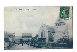 BELGIQUE - HAN SUR LESSE - Le Centre Animée Beau Plan De Tramway Bon état - Rochefort