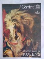 Corriere Unesco 6 1977 Rubens Clara Serena San Giorgio Drago Prado Van Leeuwenhoek Spinoza Diplodocus Borobudur Nekhbet - Arte, Design, Decorazione