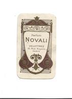 CARTE PARFUMEE - Parfum NOVALI Delletrez 15 Rue Royale Paris - Anciennes (jusque 1960)