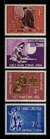 VIETNAM SUD 1966  N° 290/293 ** Neufs  MNH  Superbes C 4 € Anniversaire De Confucius Musique Violon Guitare Flûte - Vietnam