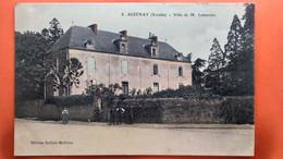 CPA  (85)  Aizenay. Villa De M. Lemercier.  (AB.529) - Aizenay