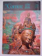 Corriere Unesco 12 1974 Santuari Nepal Bobo-khu Budda Visnù Stupa Hanuman Dhoka Seibal Katmandu Teste Cobra Pruscha - Arte, Design, Decorazione