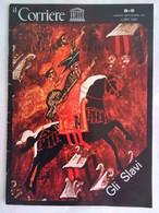 Corriere Unesco 8-9 1978 Ragusa Dubrovnik Scuola Morava Slavi Bisanzio Kiev Korolev Bielorussia Arte Animalistica Tracia - Arte, Design, Decorazione