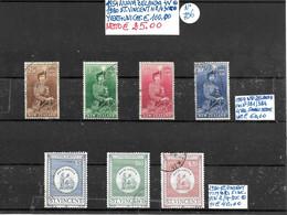 NUOVA ZELANDA ʘ 1954, FINALI DI SERIE, 4 VALORI + ST. VINCENT ʘ 1980 TIMBRI FISCALI, 3 VALORI - Used Stamps