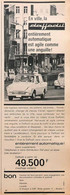Publicité Papier VOITURE DAF DAFFODIL  1965 PIP1059051 - Werbung