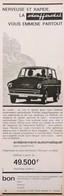 Publicité Papier VOITURE DAFFODIL  1965 PIP1058939 - Werbung