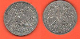 Germania 5 Mark 1984 Marchi Germany Unione Doganale Tedesca - 5 Mark