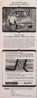Publicité Papier VOITURE DAF DAFFODIL  1965 PIP1058843 - Werbung