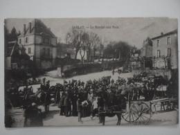 CPA 24 SARLAT - Le Marché Aux Noix - 1914 - Sarlat La Caneda