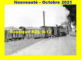 AL 742 - Train, Loco KDL 040 T - BAZOCHES-LES-GALLERANDES - Loiret - TPT - Treinen