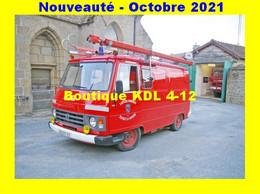 AL SP 121 - VPI Desautel - Peugeot J 9 - PEYRAT-LA-NONIERE - Creuse - Firemen