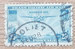Etats-Unis - YT Aérien N°21 - Ligne Aérienne Du Pacifique - 1935 - Oblitéré - 1a. 1918-1940 Used