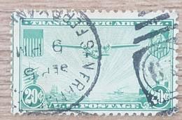 Etats-Unis - YT Aérien N°22 - Ligne Aérienne Du Pacifique - 1937 - Oblitéré - 1a. 1918-1940 Used