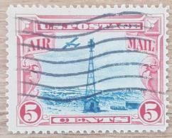 Etats-Unis - YT Aérien N°11 - Phare De La Colline Sherman - 1928 - Oblitéré - 1a. 1918-1940 Used