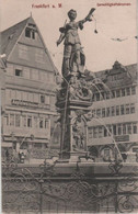Frankfurt Main - Gerechtigkeitsbrunnen - 1908 - Frankfurt A. Main