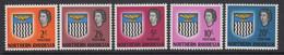 Northern Rhodesia, Scott 84-88 (SG 84-88), MLH - Northern Rhodesia (...-1963)