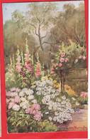 TIME OF FLOWERS   RAPHAEL TUCK SERIES   ART ELLEN WARRINGTON Pu 1928 - Tuck, Raphael