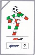 """ITALY - Mascotte Ciao/Italia """"90, SIP Promotion Telecard(omaggio), Tirage 27000, Mint - Private-Omaggi"""