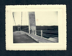 CTH - 29 Finistere - Le Pont De Terenez (1955) Détruit En 2015 - Other Municipalities