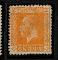NZ 1915 2d Yellow KGV Cowan SG 448 MNG #BSG10 - Unused Stamps