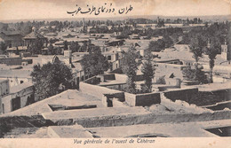 CPA -  IRAN / PERSIA, Vue Generale De L'ouest De TEHERAN. - Iran