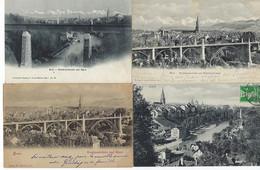 SUISSE - 8 CARTES - BERN - 1903-1911 - BE Berne