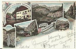Gruss Aus Johnsbach. Litho. Circulated (without Stamp) - Gesäuse