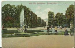 Wien. Schonbrunn .Circulated. - Castello Di Schönbrunn