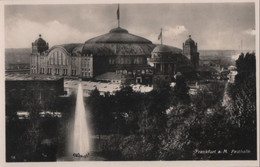 Frankfurt Main - Festhalle - Ca. 1950 - Frankfurt A. Main