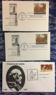 USA : FDC YAle University Francis Of Assisi Manchester - Verzamelingen