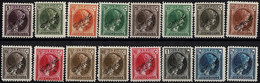 Luxembourg Luxemburg 1926/1927 Grande-Duchess Charlotte 2 Séries OFFICIEL  Neuf MNH** - 1926-39 Charlotte Right-hand Side