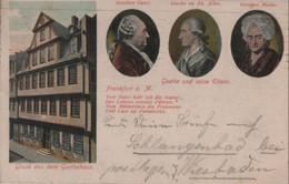 Frankfurt Main - Goethe Und Seine Eltern - 1911 - Frankfurt A. Main