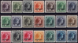 Luxembourg Luxemburg 1928/1930  Grande-Duchesse Charlotte 2 Séries OFFICIEL Neuf MNH** - Unused Stamps