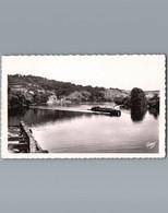 27 - Eure - Environs De Gaillon - Cpsm Petit Format Dentelée - La Seine Au Tournant Du Roule - Péniche Union Normande - - Altri Comuni